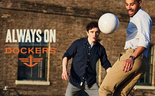 'The Leaders in Khaki': Dockers goes back to its roots for new campaign
