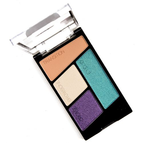 Wet 'n' Wild Hasta La Costa Baby Color Icon Eyeshadow Quad Review, Photos, Swatches