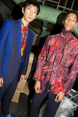 Paul Smith Shows His Men's And Women's SS18 Collection In Paris