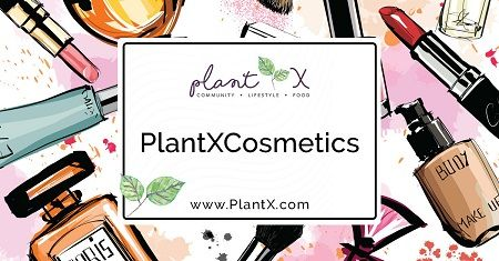 PlantX plant-based cosmetics section of online store