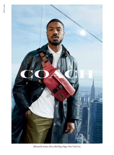 Michael B. Jordan Takes to Hudson Yards' Edge for Coach Spring '20 Campaign