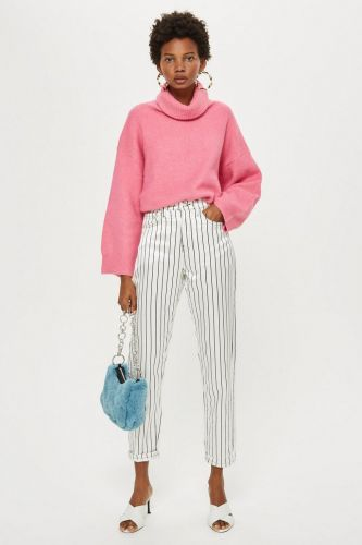 "Topshop Calls These ""the New Mom Jeans""-and I'm Intrigued"