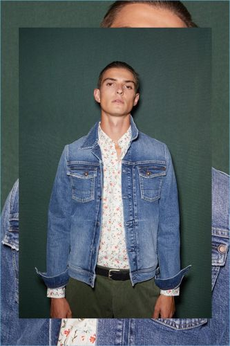 Undercover: Guerrino Santulliana Rocks Pre-Fall '18 Looks from Pepe Jeans