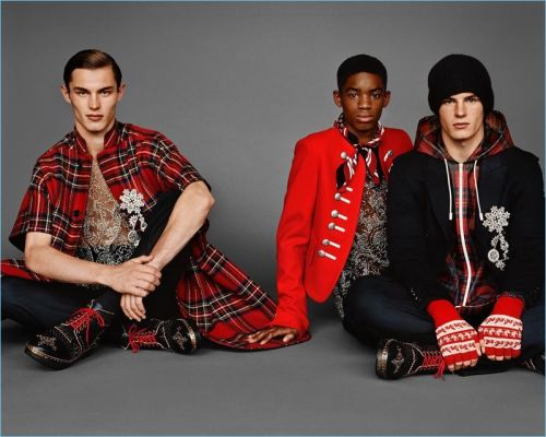 Kit Butler, Montell Martin + More Star in Burberry Fall '17 Campaign