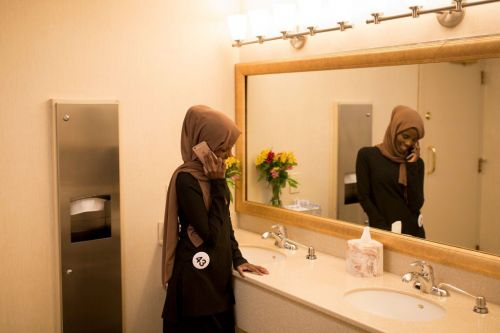 Hamdia Ahmed is the first woman to compete in the Miss Maine pageant wearing a hijab and a burkini