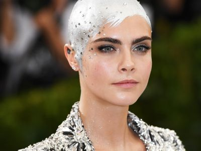This Little Girl Recreated Cara Delevingne's Met Gala Look After Chemo -& It's Amazing