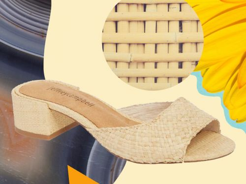 Move Over, Basket Bags: Raffia Shoes Are Taking Over
