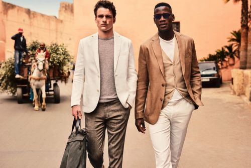 Simon Nessman & David Agbodji Travel to Marrakech with Mango