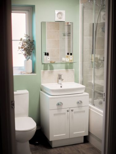 My Bathroom Makeover: A Calm & Comforting Sage Green Space I Love