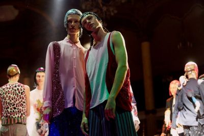 Why Comme's menswear rave was one of the season's best shows