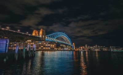 Vivid Sydney with Hayley
