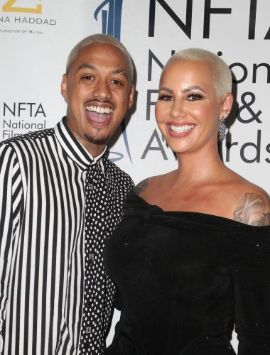 Amber Rose Seemingly Reveals She's Married in Touching Tribute to Kobe and Gianna Bryant