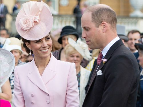 The Only Shoes Kate Middleton Wears for Garden Parties at Buckingham Palace