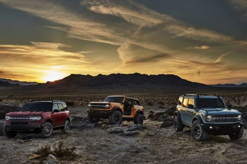 2021 Ford Bronco First Edition Is Sold Out
