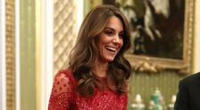 Kate Middleton Dazzles In Sequined Red Gown Amid Royal Turmoil