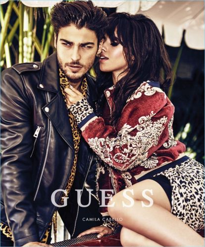 Alessandro Dellisola Couples Up with Camila Cabello for Guess Holiday '17 Campaign
