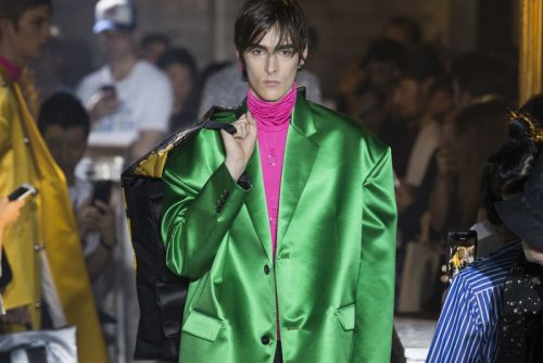Raf Simons Ushers New Wave of Menswear Tailoring for SS19