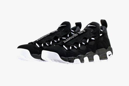 The Nike Air More Money Receives a Contrasting Black & White Colorway