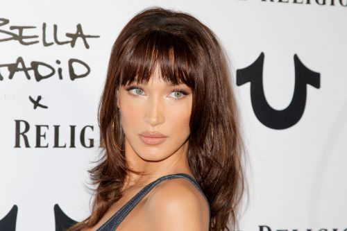 Caution: Bella Hadid's bangs are not for normal humans