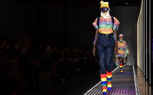 Benetton's new French flair colours debut in Milan