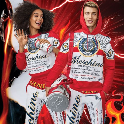 Bottoms Up: Moschino Collaborates with Budweiser on a Capsule Collection