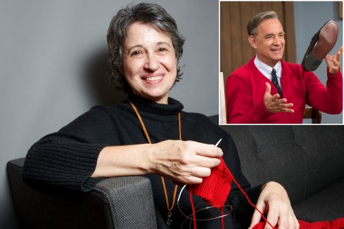 Tom Hanks' sweaters for Mr. Rogers movie took 9 weeks to knit