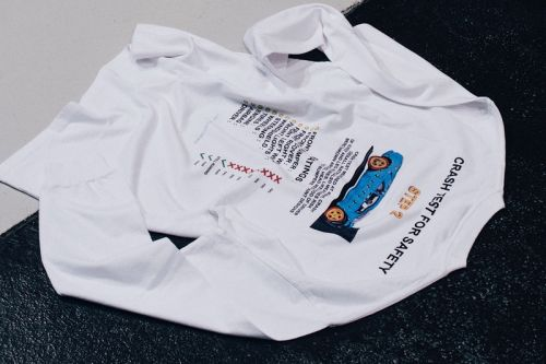 "L'Art De L'Automobile Launches Exclusive ""Crash Test"" T-Shirts and Exhibition"