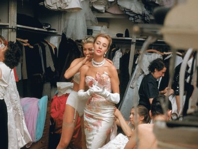 Because Who Doesn't Want To See Photos From Paris Couture In The '50s?