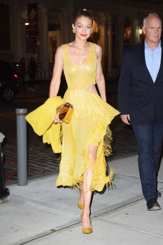 Gigi Hadid Perfectly Channeled This Disney Princess Last Night
