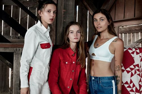 Millie Bobby Brown & Paris Jackson Star in New Calvin Klein Campaign