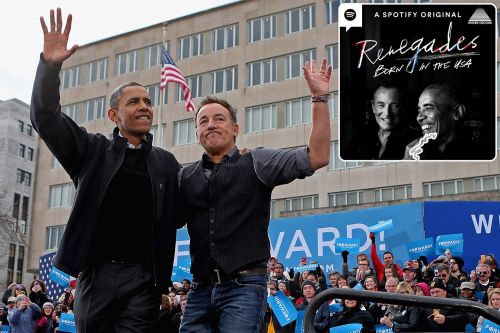 Spotify Launches Barack Obama, Bruce Springsteen Podcast