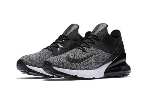 """Nike Introduces the Air Max 270 Flyknit In """"Oreo"""""""