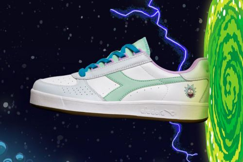 'Rick and Morty' Inspire Diadora's Latest N902 & B.Elite Release