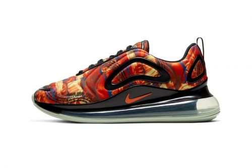 """Nike Gives Air Max 720 a Painterly """"Multi-Color/Team Orange"""" Makeover"""