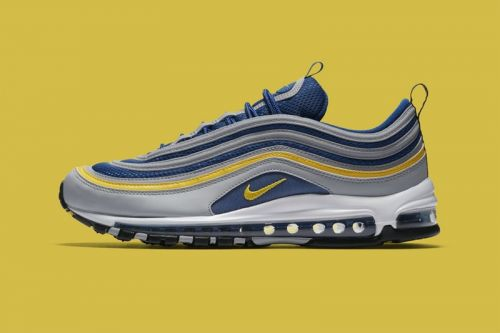 "Nike Gives the Air Max 97 a ""Michigan""-Inspired Makeover"