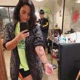 "Demi Lovato Just Got Her ""Most Meaningful Tattoo"" Yet"
