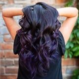 Finally, a Bright Hair Color Trend That People With Superdark Hair Can Get Behind