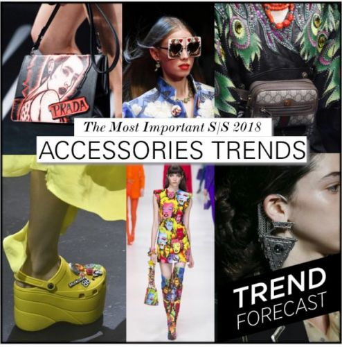 Most Important S/S 2018 Accessories Trends