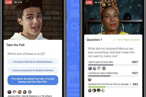 Facebook Launches New Gameshow Features for Live Streams