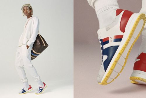 Louis Vuitton's Run Away Sneakers Now Available for Personal Customization