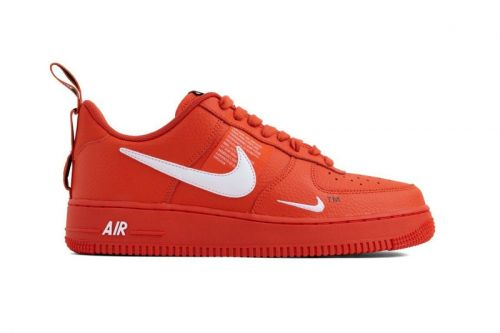 "Nike Air Force 1 07 LV8 Utility Gets Dipped in ""Team Orange"""