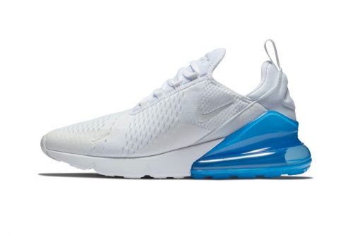 "Nike's Air Max 270 Will Take on A ""White/Photo Blue"" Makeover"