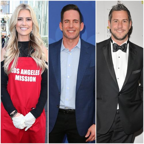 Christina Anstead Films 'Flip or Flop' With Ex Tarek El Moussa Amid Ant Anstead Split