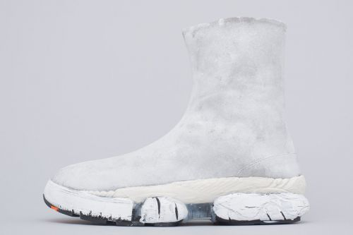 Maison Margiela's New Silhouette Fuses the Tabi Boot With the Sockrunner