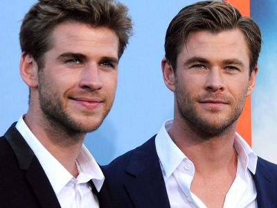 Liam Hemsworth Posted An Adorable Picture Of Big Brother Chris For His Birthday