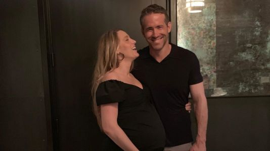 Blake Lively Flaunts Baby Bump in Husband Ryan Reynolds' Sweet Birthday Tribute