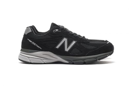 New Balance Retools the M990 in Black Pig Suede/Mesh