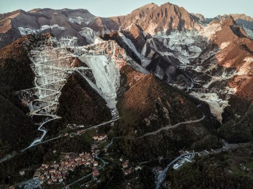 Majestic Views of Northern Italy's Spectacular Marble Quarries
