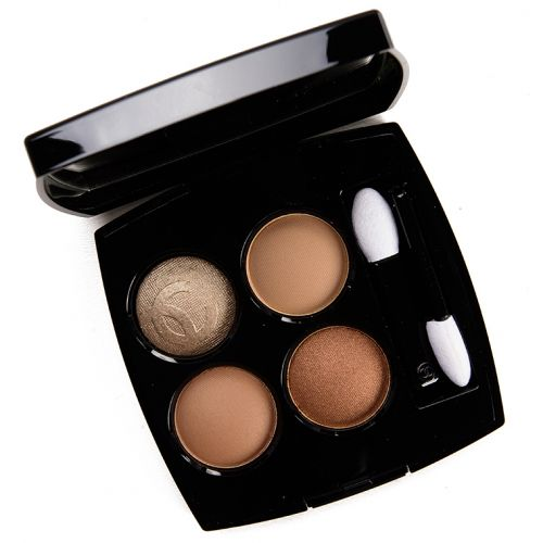 Chanel Lumieres Naturelles Eyeshadow Quad Review & Swatches