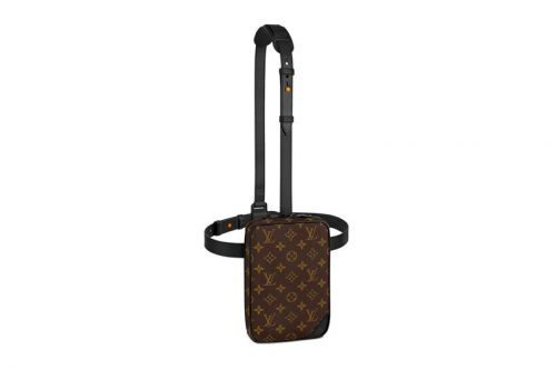 Louis Vuitton's Classic Monogram Emboldened Over Utility Side Bag
